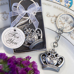 """Daughter of a King"" Crown Design Key Ring: As low as $0.89 + FREE SHIPPING"