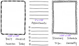 "Full Set (8 1/4"" x 4 3/4"")      Striped Card Border (2 5/8"" x 3 5/8"")     Journal Lines (2"" x 1 7/8"")     Scallop Card Border (2 3/4"" x 3 5/8"")"