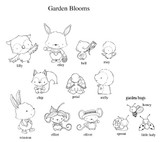 Stacey Yacula Studio - Garden Blooms Complete Collection (available through May 30, 2016)