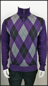 Argyle 97 - Purple
