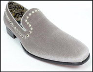 A&M Stone Studded Velvet