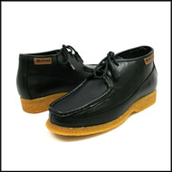 British Collection Knicks-Black Leather Lace up