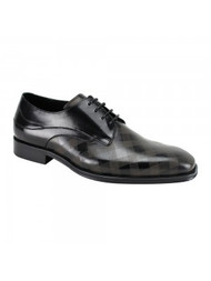 This plaid shoe is unlike any shoe you have ever seen before. The  leather is engraved with a plaid pattern giving you the extra style you need. Prices are exclusive to online sales.