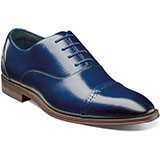 Barris Cap Toe Oxford features subtle perforations around the vamp and along the cap toe set the foundation for your always-polished style. Prices are exclusive to online sales. Cap toe oxford. Smooth genuine leather uppers with breathable leather linings. Fully cushioned insole with Memory Foam for added comfort. Non-leather outsole.