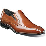Barton Plain Toe Slip-on features subtle perforations on the toe give this shoe an added level of dimension to make sure you're one step ahead of the crowd. Prices are exclusive to online sales.    Plain toe slip-on. Perforated genuine leather uppers with breathable leather linings. Fully cushioned insole for added comfort. Non-leather sole.