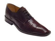 """Torino"" by David x a genuine lizard shoe in Brown"
