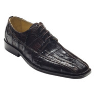 """Capi"" by David x a genuine lizard shoe in Dark Brown. Prices are exclusive to online sales."
