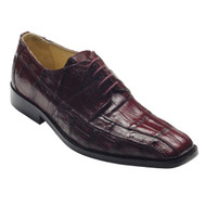 """Capi"" by David x a genuine lizard shoe in Wine"