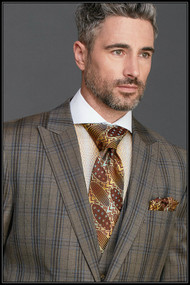 Steven Land 3pc 100% Wool suit. Prices are exclusive to online sales.