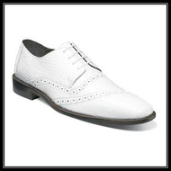 You'll be dressed to the nines in the Garzon Leather Sole Cap Toe Oxford. Complete with luxuriously textured ostrich and eelskin print leather uppers and a refined profile, the Garzon will be the crown jewel of your shoe collection. Price are exclusive to online sales.  Cap toe oxford Ostrich leg and eelskin print leather uppers with synthetic linings Fully cushioned insole with Memory Foam for added comfort  Leather sole