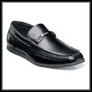 The understated bit and subtle perforation of the Stacy Adams Chaz Moc Toe Bit Slip-On makes this shoe good to go, 24/7. It's the small details that matter the most, and the Chaz has been perfected down to the very last stitch. Prices are exculsive to online sales. Moc toe slip-on Manmade uppers with leather linings Fully cushioned insole with Memory Foam for added comfort  Flexible rubber sole