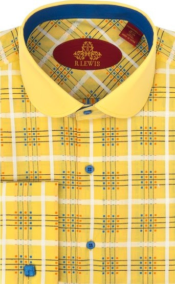 The popular Robert Lewis Dress Shirt Collection, which are button down casual shirts for today's modern male. They feature bold patterns and colors, styled to show off your unique fashion sense while still staying professional. Choose from a wide variety of colors and patterns, such as stripes and checks. Prices are exclusive to online sales.  -100% Cotton  -Spread Collar -French Cuff