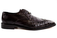Genuine Crocodile and soft Italian Calf Style #: 1619 Features: Leather Lining Cushion Insole Leather sole Wingtip. Prices are exclusive to online sales.