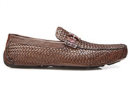 Genuine Alligator and Soft Woven Calf Style #: A08. Prices are exclusive to online sales.   Features:  THIS SHOE FITS ONE SIZE BIGGER Leather Lining cushion insole rubber sole