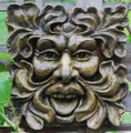 Square Green Man Large