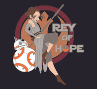 Rey of Hope - Women Fitted