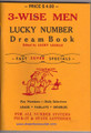 3-Wise Men Lucky Number Dream Book