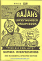 Rajah's Lucky Number Dream Book