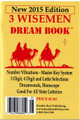 "NEW 2015 Edition 3 Wise Men Dream Book ""Back to it's Original Roots"""