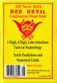 All New 2016 Red Devil Combination Dream Book