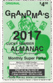 All New 2017 Grandma's Almanac