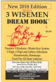 "NEW 2018 Edition 3 Wisemen Dream Book ""Back to it's Original Roots"""