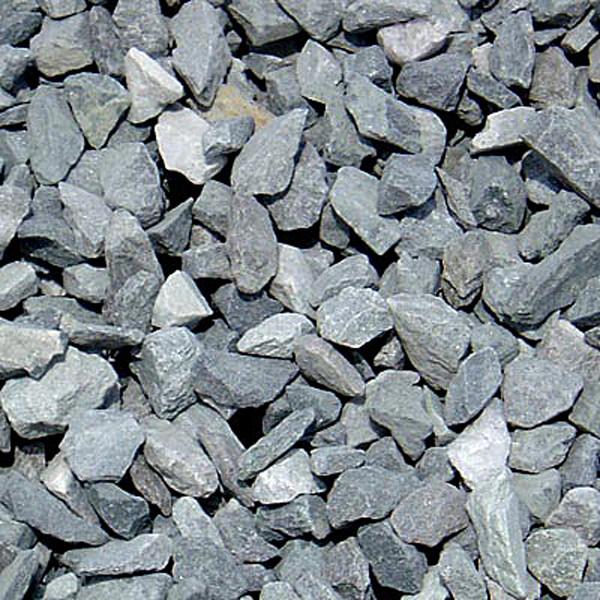 Crushed Blue Stone : Blue stone per yard gotmulchli