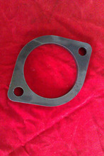 "2 PIN 8mm THICK 3"" HOLE (76mm) MILD STEEL EXHAUST FLANGE"