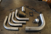 DIY X-FLOW TURBO T3 MANIFOLD KIT INC DOWN PIPE