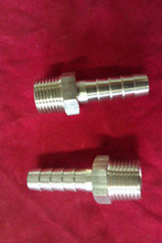 "A PAIR OF 1/2"" BSP MALE BRASS UNIONS TO SUIT 1/2""  AEROQUIP OIL COOLER HOSE"