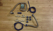 FORD PINTO 2.0 1.6  TRUFLEX COMPLETE WATER HOSE KIT INC FILLER NECK