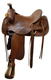 SH51316 Showman Roping Saddle Roping Warranty