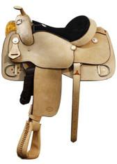 "16"" SH520016  Showman Training Saddle"