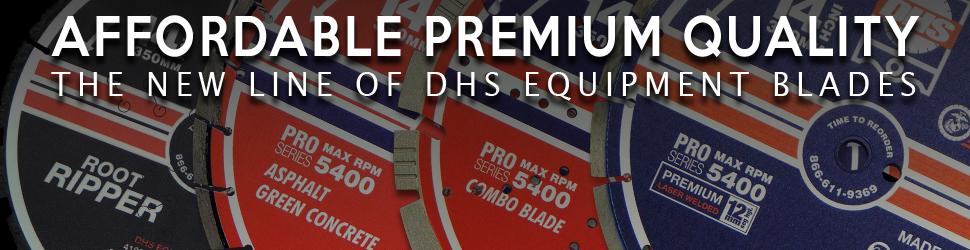 DHS Equipment Concrete Diamond Blades