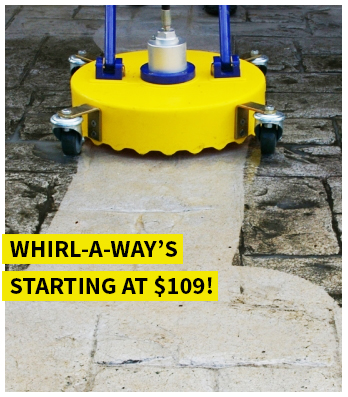 Shop Whirl-a-Way Flat Surface Cleaners