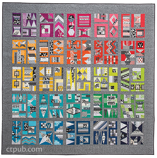 Unusual Quilting Ideas : Amazing, awesome, unique quilt blocks - C&T Publishing