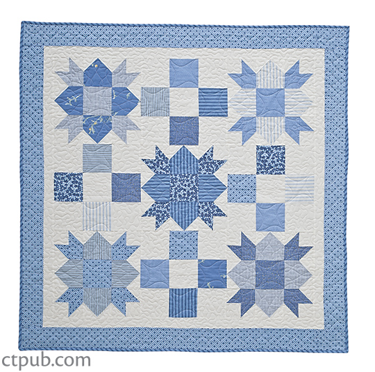 will your gift be a baby quilt in classic blocks and colors