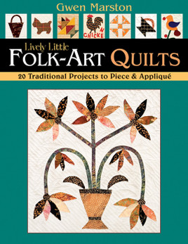Lively Little FolkArt Quilts eBook