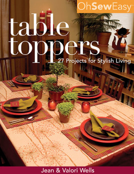 Oh Sew Easy Table Toppers eBook