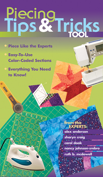 Piecing Tips & Tricks Tool eBook