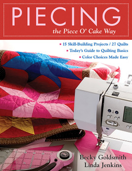 Piecing the Piece O' Cake Way eBook