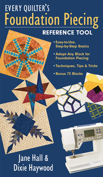 Every Quilter's Foundation Piecing Reference Tool eBook