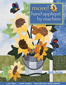 More! Hand Applique by Machine eBook
