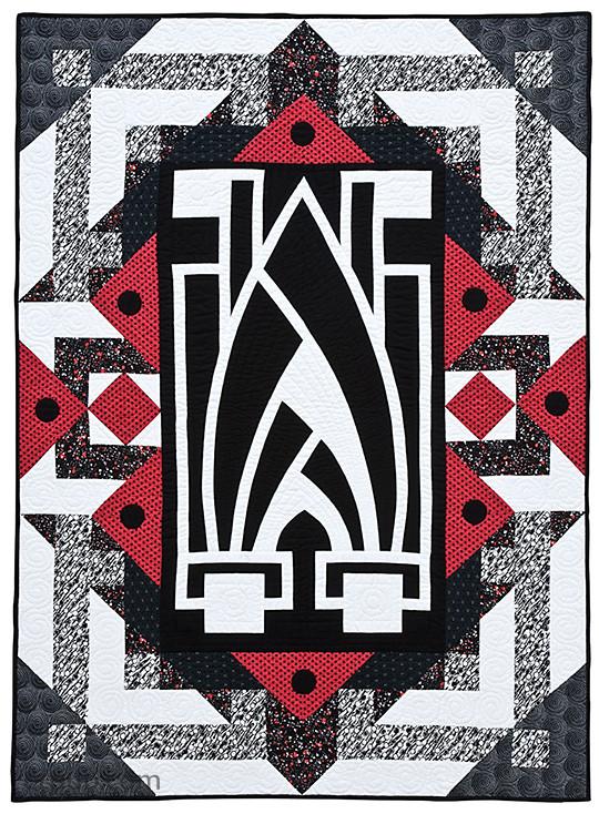 Design Art Deco Quilts eBook - C&T Publishing : art deco quilt - Adamdwight.com