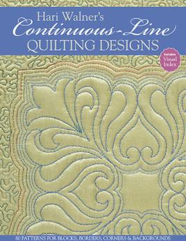 Hari Walner's Continuous-Line Quilting Designs eBook