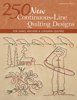 250 New Continuous-Line Quilting Designs eBook