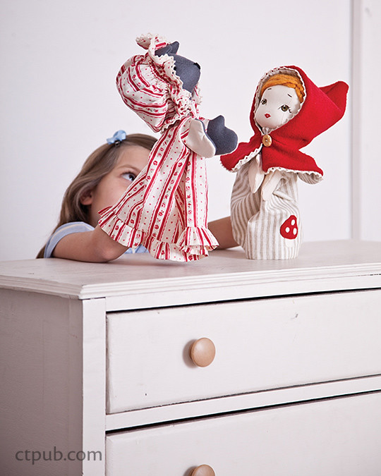 Adorable project from Storybook Toys: Sew 16 Projects from Once Upon a Time - Dolls, Puppets, Softies & More
