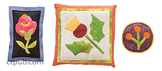 Project from Emporia Rose Applique Quilts: New Projects, Historical Vignettes, Classic Designs