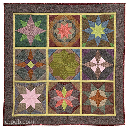 Star Quilts: 35 blocks, 5 projects • Easy No-Math Drafting Technique by Mary Knapp