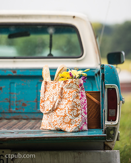 Project from Modern Prairie Sewing: 20 Handmade Projects for You & Your Friends